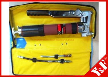 Shift Heavy Duty Grease Guns Pistol Grip Mengatur Silinder Tunggal untuk Excavator