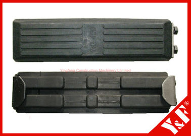 400mm Rubber Track Shoes Excavator Bagian Undercarriage Digger Spare Parts